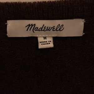 Madewell colorblock Kent cardigan size M!